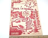 Par La Main Vintage French Sheet Music Lyrics Aime Duval 1950s Collectible Paper Ephemera  Editions de L'EPI