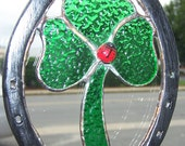 Horse Shoe and Shamrock