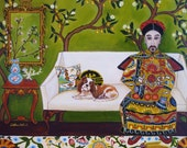 Chinoiserie Themed - Notecards-assortment of Catherine Nolin's popular paintings.