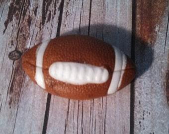 Edible Fondant Football-Cake/Cupcake Toppers-Set of 6