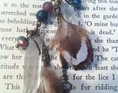 Mystic Crystals and Feathers Earrings