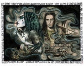 """Type O Negative """"Stay out of my dreams"""" illustration 11x14 print"""