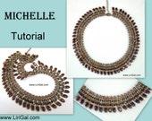 Michelle SuperDuo&Tile Necklace PDF Tutorial