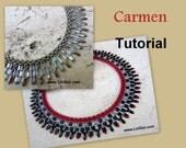 Tutorial Carmen SuperDuo&Tila Necklace PDF