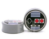 8g (3mm) Oldskool Video Game Controller BMA Plugs Single Flare Pair