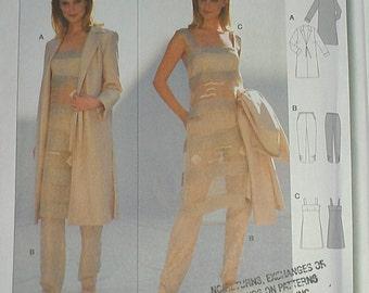Jacket Pants Tunic Dress East Indian 10 12 14 16 18 20 Burda 8454