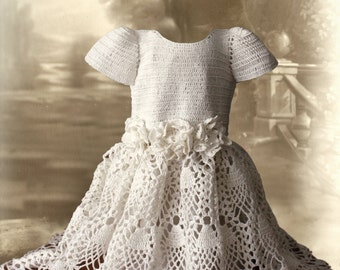 Crochet Dress Pattern No 95