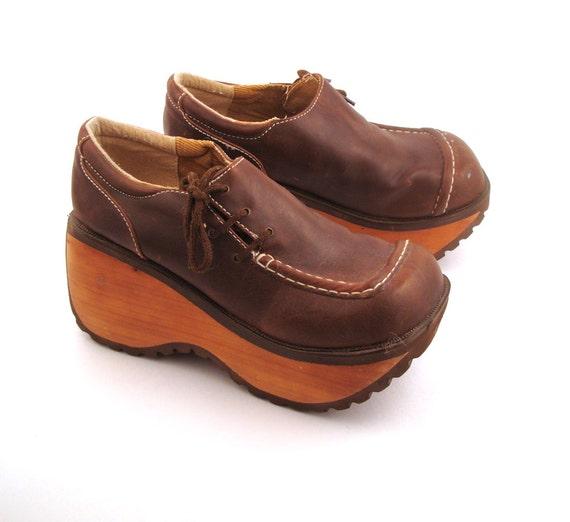 platform shoes vintage 1990s by purevintageclothing