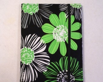 Kindle Cover Hardcover, Kindle Case, eReader, Kobo, Nook, Nexus 7, Kindle Fire HDX, Kindle Paperwhite, Green with Envy 2