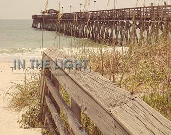 Pier in Myrtle Beach - Fine Art Photography