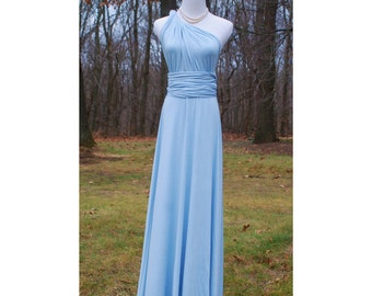 USA Bridesmaids dresses, Convertible dress/ infinity dress Full length