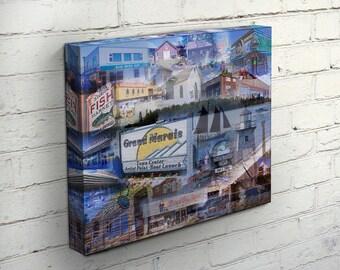 The Harbor Village Canvas - Grand Marais, MN