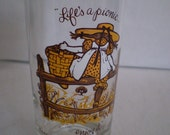 Vintage rare Holly Hobbie collectable glass
