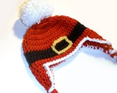 Christmas Baby Santa Hat