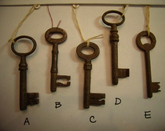 Antique European Key 1800s  All are Available