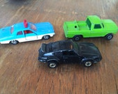 The Vintage Toy Car Trio