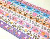 Origami Lucky Star Paper Strips Gift Pack - Kawaii Hello Kitty - Great DIY ideas