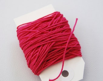 Solid Hot Pink Twine 15 yards
