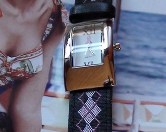 Celebrate Life Pink Ribbon Wrist Watch for Women Excellent Condition On SaLe Now
