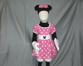Minnie Mouse costume - size 3T-4T - Great Price - CLOSE OUT SALE