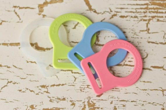 25 Mam Pacifier Adapter Button Silicone CPSIA Compliant