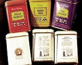 John Wagner & Sons Vintage Tea Tins