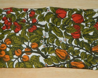 Vintage Kee Dee Hand Prints Linen Tea Towel NOS Lois Long