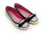 Slack: Handmade Ballet Flats from De Bonis Orquera