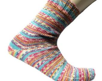Socks Konditor, EU size 40 - 42 , US size 9 - 11, UK size 7 - 9