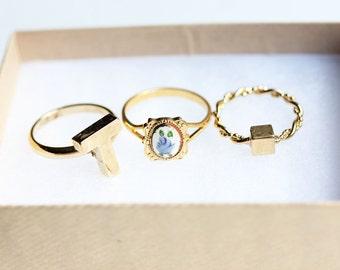 Set of 3 Rings - You Choose