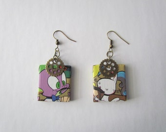My Little Pony: Spike and Angel Earrings