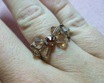 Bow Tie Ring PDF Jewelry Making Tutorial (INSTANT DOWNLOAD)