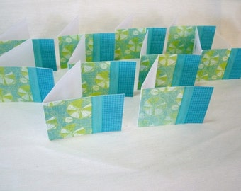 Set of 10, Mini Note Cards #7385