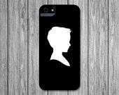 Personalized Silhouette, Custom iPhone 6S Plus, 5S Case, Black and White, Custom Silhouette Samsung Galaxy Note 4, Galaxy S6