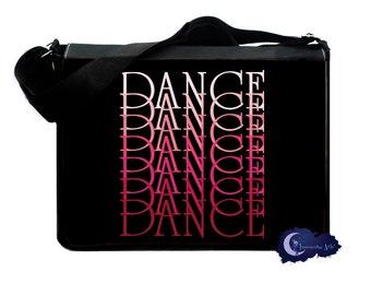 Dance Gradient Messenger and Laptop Bag