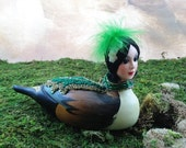 The Pond Queen - Art Doll