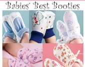 Babies Best Booties E-pattern.  Multisize preemie-18 months.