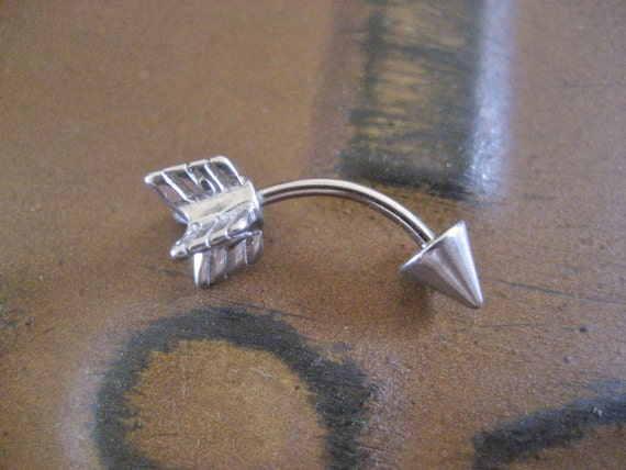Arrow Eyebrow Rook Conch Snug Helix Cuff Ear Eye Brow Piercing Belly    Helix Piercing Jewelry Cuff