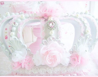 Wall Crown Decor view wall / bed crownssweetlilboutique on etsy