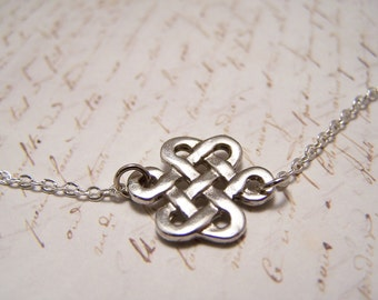 Pewter Celtic Knot Necklace