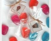 Custom Listing-24 Luau Party Favors Handmade Soap