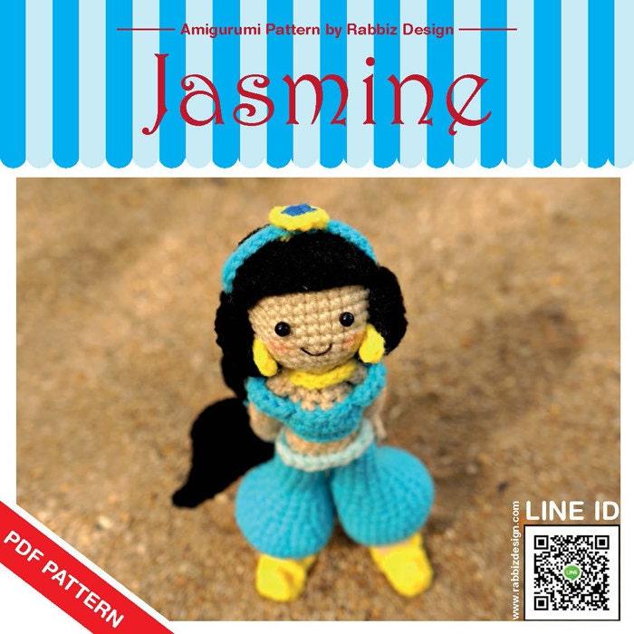Amigurumi Join : PDF Pattern Amigurumi Jasmine Pattern by rabbizdesign on Etsy