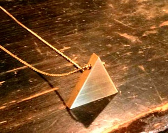 The Golden Triangle Necklace
