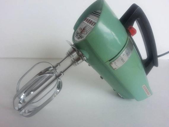 Electric Hand Mixers Kitchen ~ Vintage green dormey electric hand mixer by sassamafrass