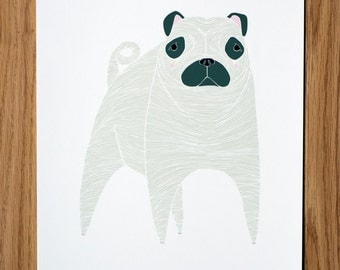 Pug Illustration