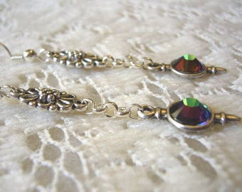 Burst Of Sparkle Dangle Earrings Free Shipping in USA