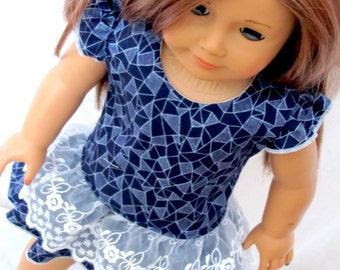 Party Dress for American Doll