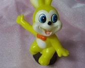 Vintage hard  Plastic Bunny Rabbit Korea