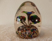 One of a kind Vintage Paperweight 1960 to 70s  Murano