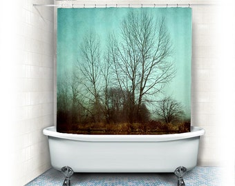 Brown And Turquoise Shower Curtain Western Shower Curtains Las